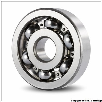 3 mm x 10 mm x 4 mm  skf W 623-2RZ Deep groove ball bearings