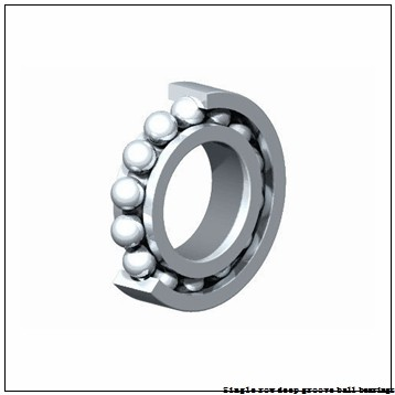 60 mm x 95 mm x 18 mm  NTN 6012LLUC3/5K Single row deep groove ball bearings