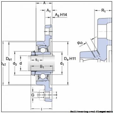 skf PFT 1.1/2 FM Ball bearing oval flanged units