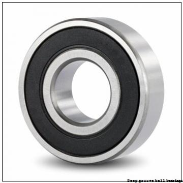 2 mm x 7 mm x 2.8 mm  skf W 602 Deep groove ball bearings
