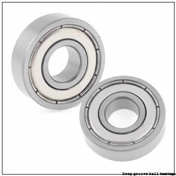 6 mm x 10 mm x 3 mm  skf W 627/6-2Z Deep groove ball bearings