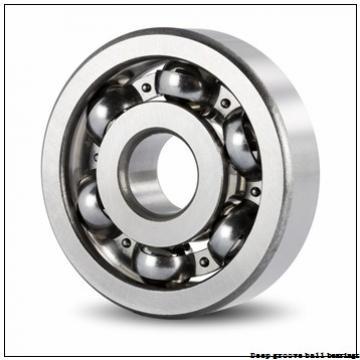 10 mm x 30 mm x 9 mm  skf W 6200 Deep groove ball bearings
