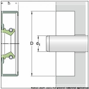 skf 28X45X7 CRW1 V Radial shaft seals for general industrial applications