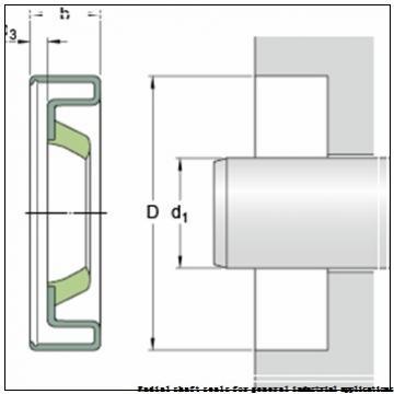 skf 130X170X12 CRW1 R Radial shaft seals for general industrial applications