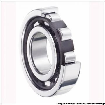 60 mm x 110 mm x 22 mm  NTN NUP212U Single row cylindrical roller bearings