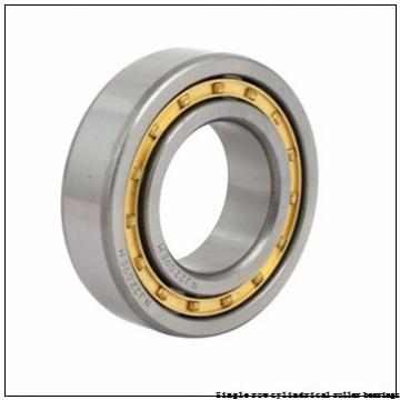 30 mm x 72 mm x 27 mm  NTN NUP2306E Single row cylindrical roller bearings
