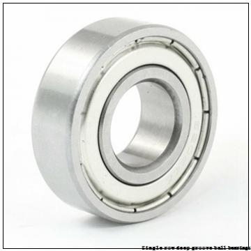 55 mm x 90 mm x 18 mm  NTN 6011 Single row deep groove ball bearings