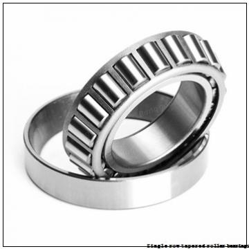 NTN 4T-387 Single row tapered roller bearings