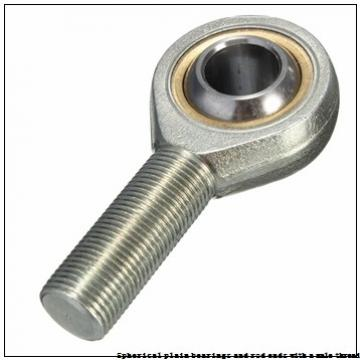 skf SAA 40 ESL-2LS Spherical plain bearings and rod ends with a male thread