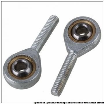skf SAA 60 ES-2RS Spherical plain bearings and rod ends with a male thread