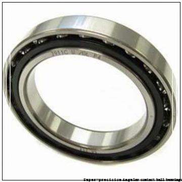 50 mm x 72 mm x 12 mm  skf S71910 ACB/P4A Super-precision Angular contact ball bearings