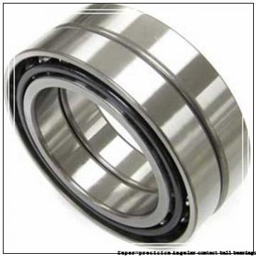 40 mm x 80 mm x 18 mm  skf 7208 ACD/HCP4A Super-precision Angular contact ball bearings