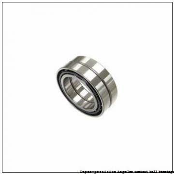 25 mm x 47 mm x 12 mm  skf 7005 CD/P4A Super-precision Angular contact ball bearings