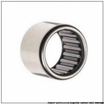 25 mm x 47 mm x 12 mm  skf S7005 CD/HCP4A Super-precision Angular contact ball bearings