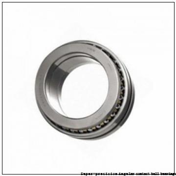 90 mm x 140 mm x 24 mm  skf 7018 CD/HCP4AL Super-precision Angular contact ball bearings