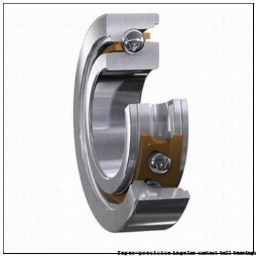 30 mm x 55 mm x 13 mm  skf S7006 ACB/P4A Super-precision Angular contact ball bearings