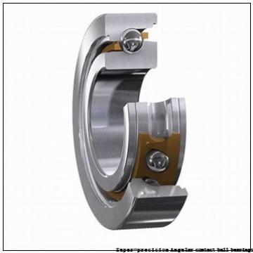 35 mm x 62 mm x 14 mm  skf 7007 ACD/HCP4A Super-precision Angular contact ball bearings